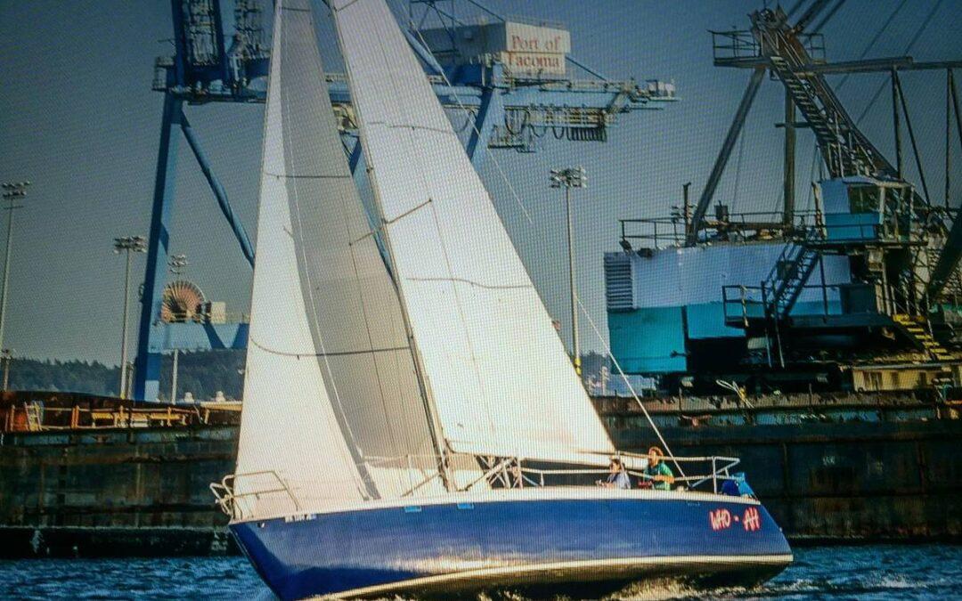 1973 37' Peoples Custom Racing Sail - Tacoma, WA -1